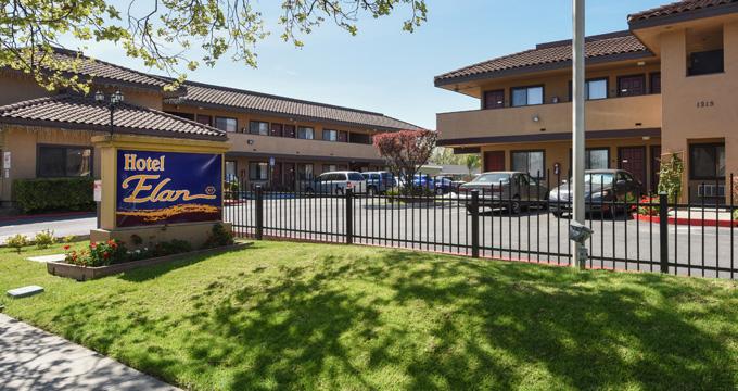 Hotel Elan in San Jose California - Silicon Valley Hotel